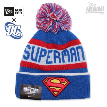 NEW ERA - Bonnet enfant 2 - 12 ans Jake- Superman