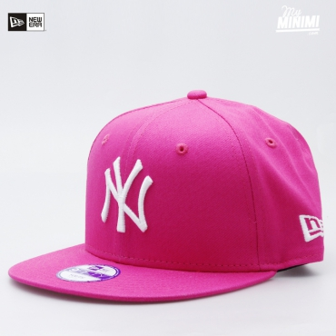 Casquette Snapback New Era enfant NY 4-12 ans - New York Yankees Rose