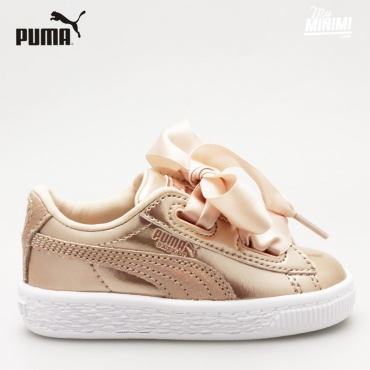 Puma heart Lunar Lux Cream tan - baskets pour enfant - Cream Tan