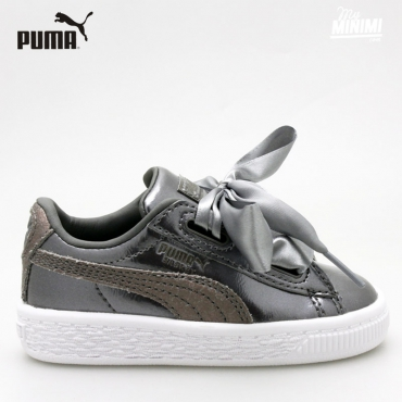 Puma heart Lunar Lux Cream tan - baskets pour enfant - Smoked Pearl