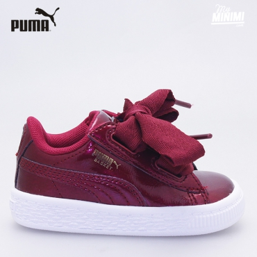 Puma Heart Patent - Baskets enfant du 19 au 27 - Glam