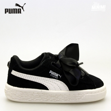 Puma Heart Jewel - Baskets enfant du 19 au 27 - Noir