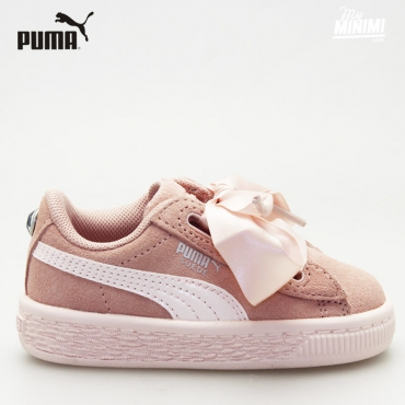 Puma Heart Jewel - Baskets enfant du 19 au 27 - Rose