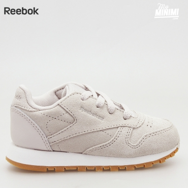 Reebok CL Leather TDC - Basket enfants du 19 au 27 - Beige