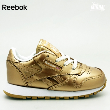 Reebok Classic Leather - Basket enfants du 19 au 27 - Brass