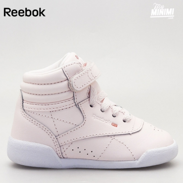 Reebok Freestyle Hi Muted - baskets enfant - rose pâle