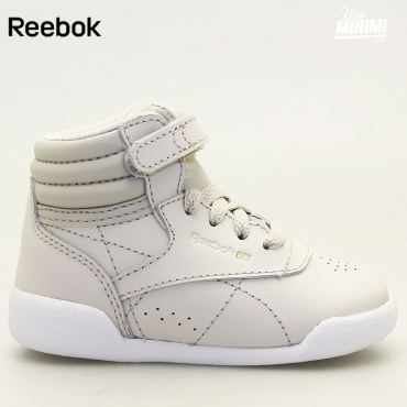 Reebok Freestyle Hi Muted - baskets enfant - beige clair