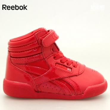 eb1826d5be7 Reebok FS Hi Patent - baskets enfant - vynil rouge