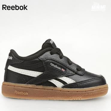54d637b592078 Reebok Revenge - Basket enfants du 19 au 27 - Noir et Gum