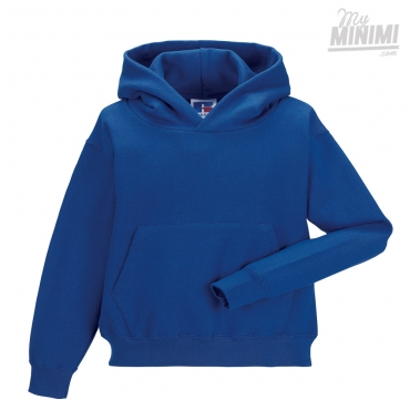 Russell Athletics Sweat à capuche pour enfants de 3 à 12 ans - Bleu Royal