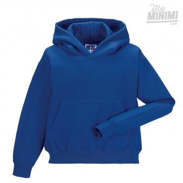 d0cb07bc2c0ba Russell Athletics Sweat à capuche pour enfants de 3 à 12 ans - Bleu Royal