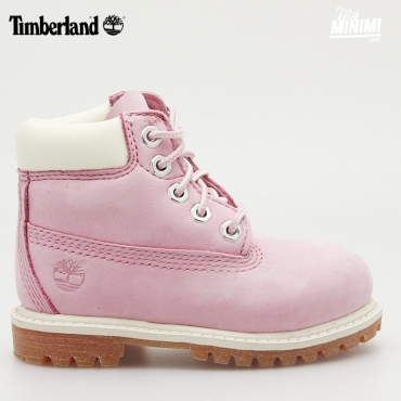 Timberland 6 Inch Premium Boot - Chaussures enfant du 20 au 30 - Rose