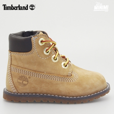 Timberland Pokey Boot - Chaussures enfant du 20 au 30 - Beige