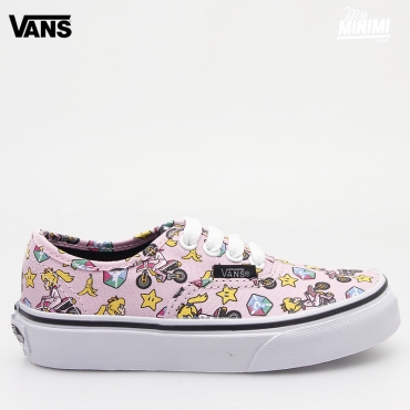 Vans Authentic Nintendo - Baskets enfant du 27 au 35 - Princesse Peach