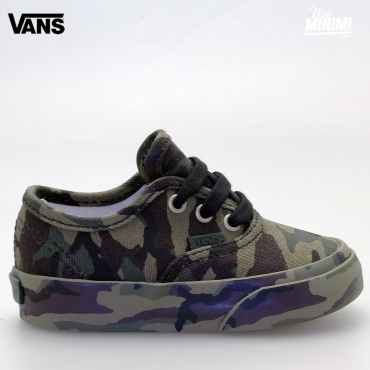 Vans Authentic - baskets enfants du 19 au 26 - Classic Camo