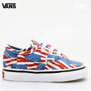 Vans Authentic - Baskets enfant du 19 au 26 - Free Flag