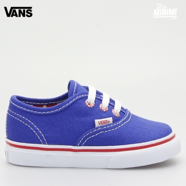 Vans Authentic - Baskets enfant du 19 au 26 - Star Eyelet Bleu