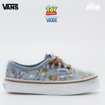 Vans authentic Toy Story - Baskets enfant du 28 au 32 - Woody