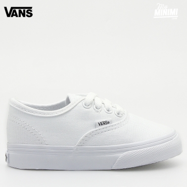 VANS AUTHENTIC TRUE WHITE - Baskets enfant du 21 au 26,5