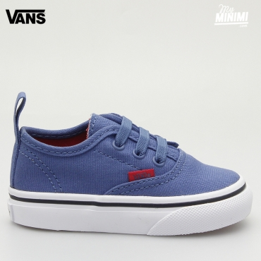 Vans Authentic V Lace - Baskets enfant du 19 au 26 - Sport Pop Bleu