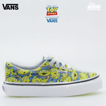 Vans Authentic V Lace Toy Story - Baskets enfant du 28 au 32 - Aliens