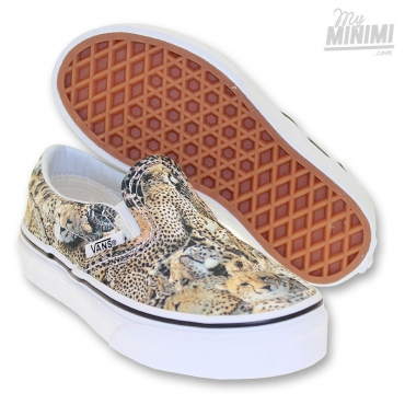 Vans Classic Slip-on Kenya - Baskets Enfant du 27 au 35 - Multi
