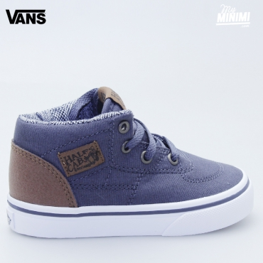 Vans Half Cab Periscope - baskets enfants du 19 au 26 - Gris et marron