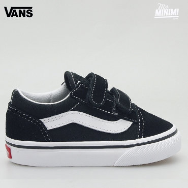Vans OLD SKOOL V Noires - baskets enfants