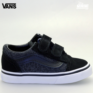 Vans OLD SKOOL V - baskets enfants du 20 au 26 - Suede & Suiting Old