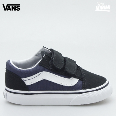 Vans old skool V - baskets enfants - Black Parisian Night