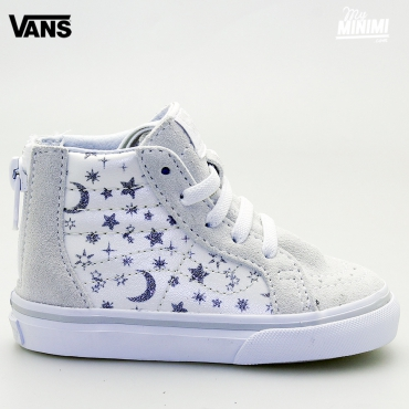 Vans SK8-HI ZIP - baskets enfants du 19 au 26 - Star Glitter