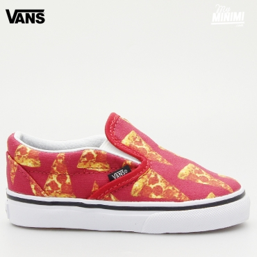 Vans Slip On Late Night - Baskets enfant du 19 au 26 - Pizza
