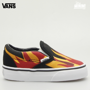 Vans Slip On V Sports - Baskets enfant du 19 au 26 - Flame