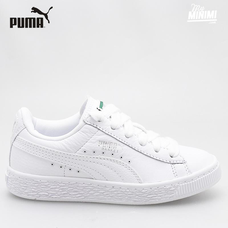 watch 17be1 1f181 ... Photo Puma Classic LFS - baskets enfants du 28 au 35 - Blanc