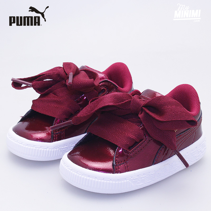 basket puma heart enfant