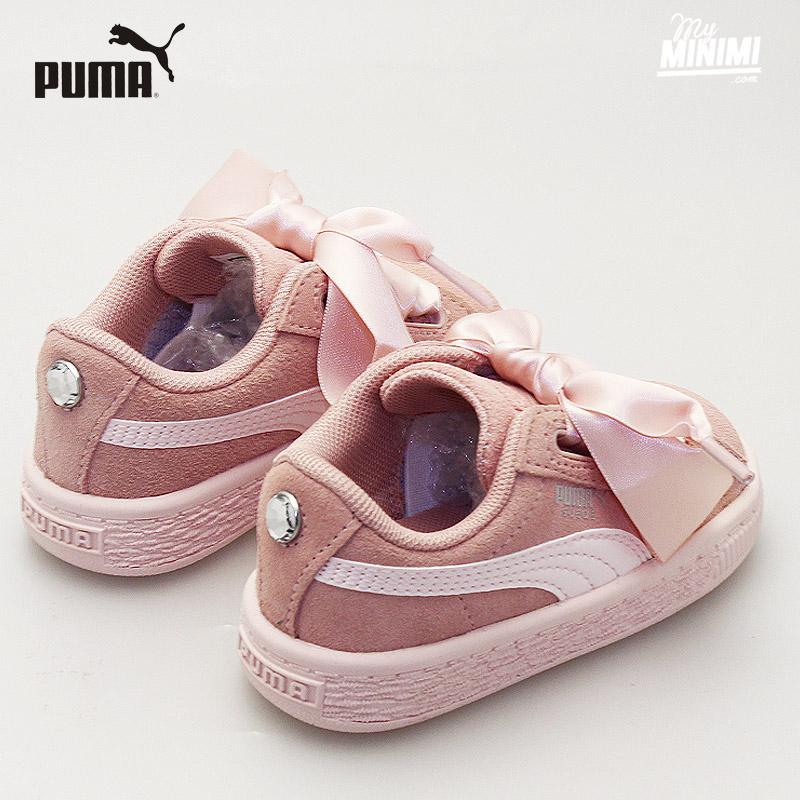 puma rose enfant