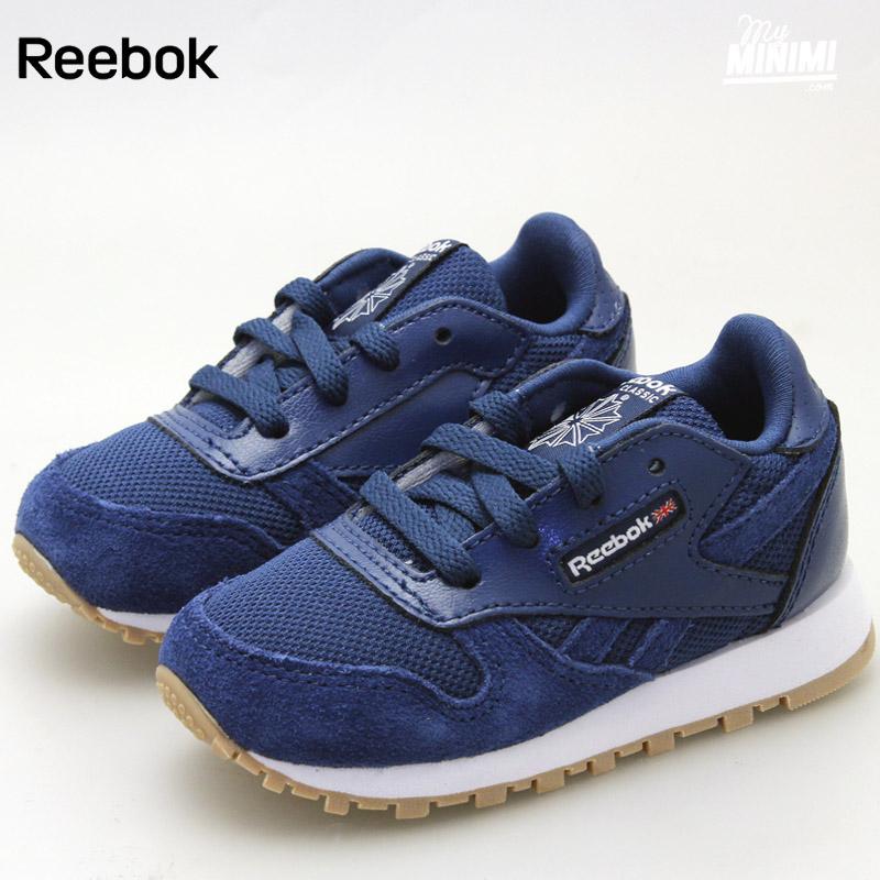 Enfants Du Reebok Leather Cl Au Bleu 27 Estl Basket 19 WIYEH2D9