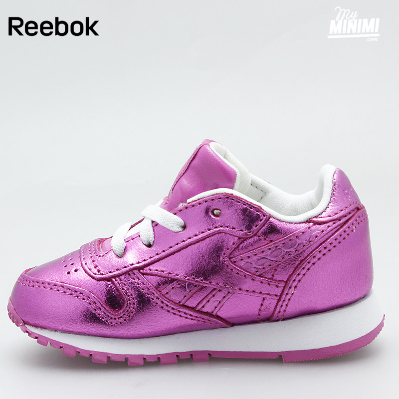 basket reebok enfant rose