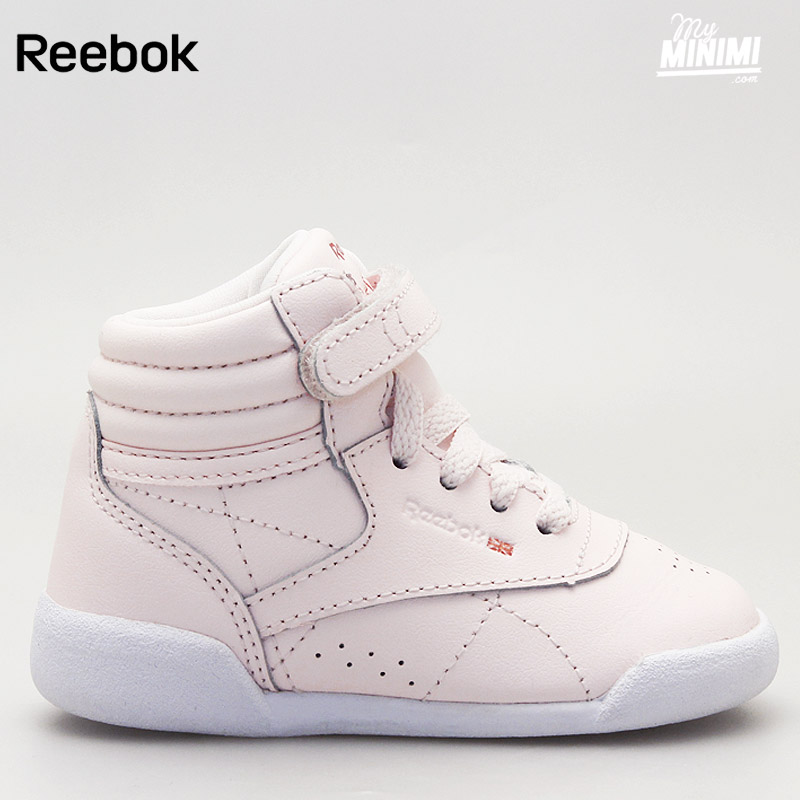 Reebok Sport Freestyle Hi Muted Clair Rose - Chaussures Basket montante Femme