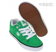 DC Shoes Pure - baskets enfant (Youth) - canvas Vert