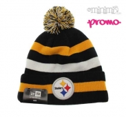 NEW ERA - Kids - Bonnet NFL Steelers Noir et Jaune  2-14 ans