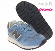New Balance Classics 1300 - Baskets Enfant kids - Bleu et gris
