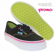 VANS Authentic - baskets enfant (Kid du 27 au 34) - Noir multi pop