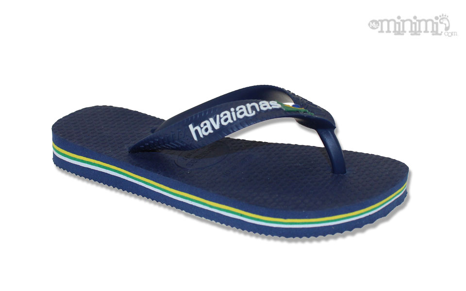 90e2797733e ... Photo Tongs Havaianas enfant - du 25 26 au 35 36 - Bleu